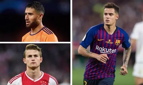 Transfer news LIVE: De Ligt to Man Utd, Chelsea Coutinho 'discussions', Liverpool, Arsenal