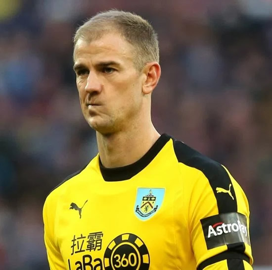 CHANGE OF HART Stoke will turn to former England No1 Joe Hart if Jack Butland leaves the Potters