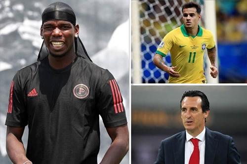Transfer news LIVE: Pogba's Man Utd meeting, Coutinho to Liverpool, Arsenal bid rejected