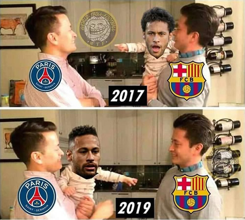 7M Daily Laugh - Two years for Neymar