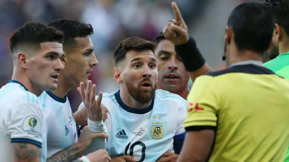 'The Copa is set up for Brazil' - Messi slams CONMEBOL 'corruption' and snubs medal ceremony after Chile red