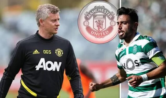 Man Utd boss Ole Gunnar Solskjaer lifts lid on transfer plans with Bruno Fernandes linked