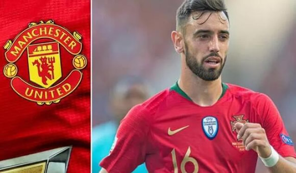 Man Utd preparing £70m bid for Sporting Lisbon star Bruno Fernandes in coming hours