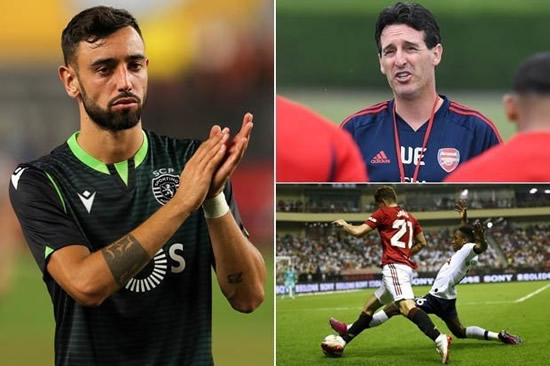 Transfer News LIVE: Man Utd medical for £63m Fernandes, £72m Pepe to Arsenal in 48 hours