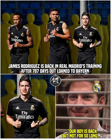 7M Daily Laugh - Real Madrid injuries