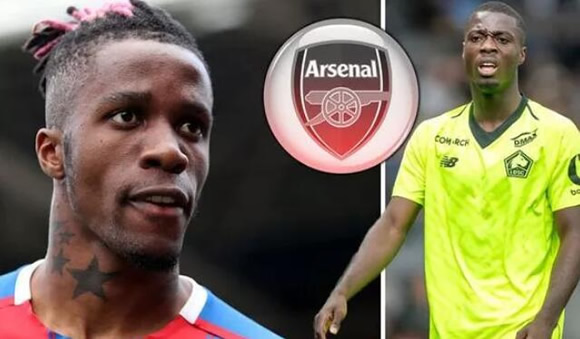 Arsenal set to make final Wilfried Zaha approach after sealing Nicolas Pepe transfer