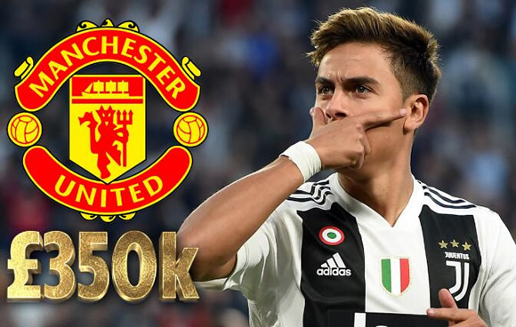 Dybala demands more money than Pogba for Man Utd transfer as swap deal for Romelu Lukaku is plunged into doubt