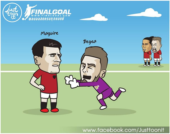 7M Daily Laugh - De Gea now