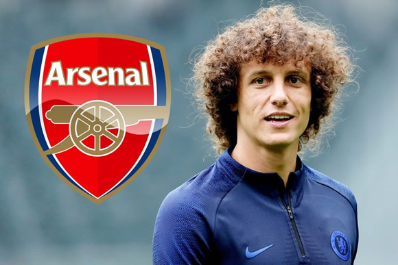 Arsenal could pay Chelsea just £12m to seal David Luiz transfer after defender's exit bombshell
