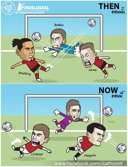 7M Daily Laugh - Man Utd Then and Now