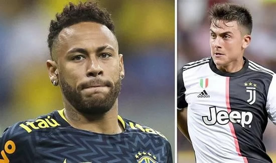 Transfer news LIVE: Barcelona offer in Neymar twist, Dybala talks, Man Utd exit backed