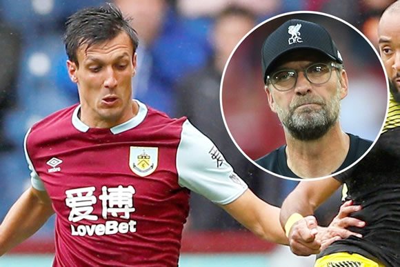 Liverpool feud with Burnley reignited as Jack Cork hits out at Jurgen Klopp's Reds
