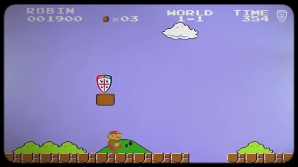 Olsen announced by Cagliari with iconic Super Mario Bros video