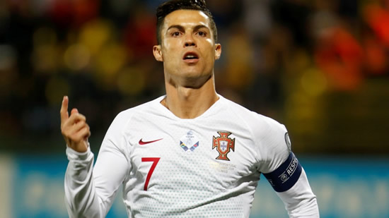 Cristiano Ronaldo scores four in Portugal win to move closer to Daei's record