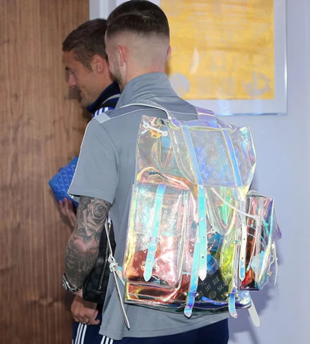 Leicester star James Maddison 'stuffed Man of the Match award' in 'horrific' £6500 Louis Vuitton backpack, reveals Ben Chilwell
