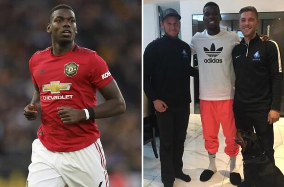 Man United ace Paul Pogba splashes out £15k on guard dog from specialist firm after being targeted by angry fans