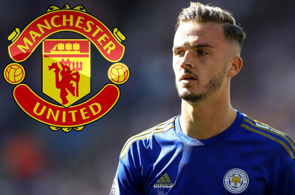 Man Utd step up scouting of Leicester's £80m James Maddison with view to transfer as Solskjaer searches for creative spark