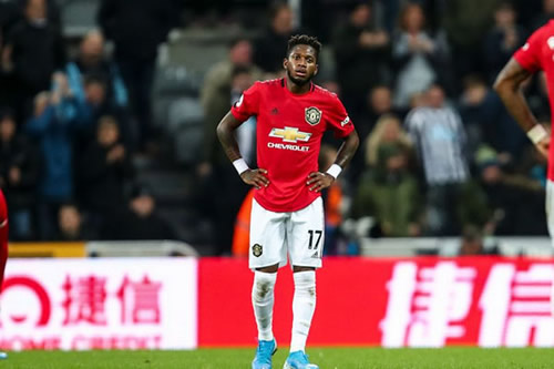 Man Utd flop Fred branded 'worst signing ever' after horror show at Newcastle
