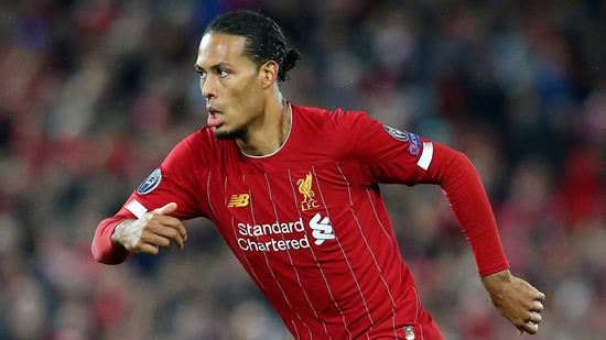 'Anything can happen' - Van Dijk ignoring Liverpool's Premier League lead over Manchester City