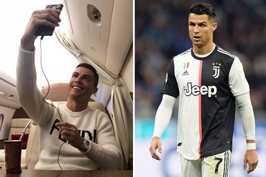 INSTA KING Cristiano Ronaldo earns £37MILLION from Instagram – more than he does playing for Juventus