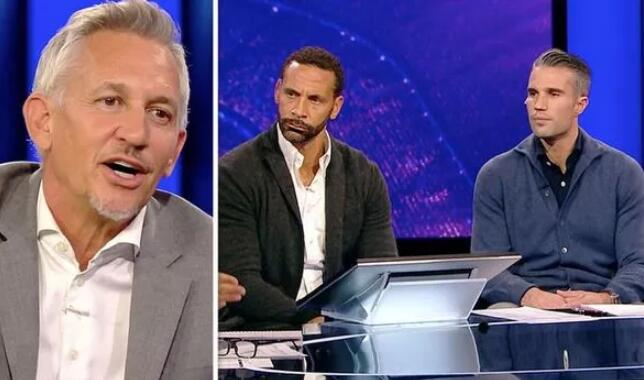 Gary Lineker calls Man Utd a 'small club' in front of Rio Ferdinand and Robin van Persie