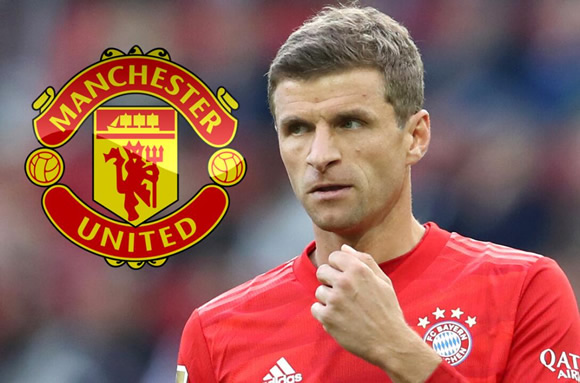 Man Utd transfer target Thomas Muller 'will push for Bayern Munich exit in January unless Kovac plays him'