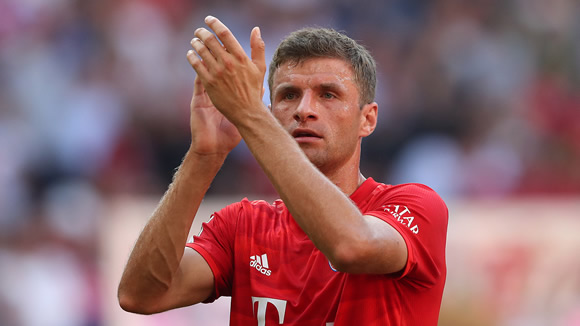 Bayern Munich dismiss Muller January exit rumours