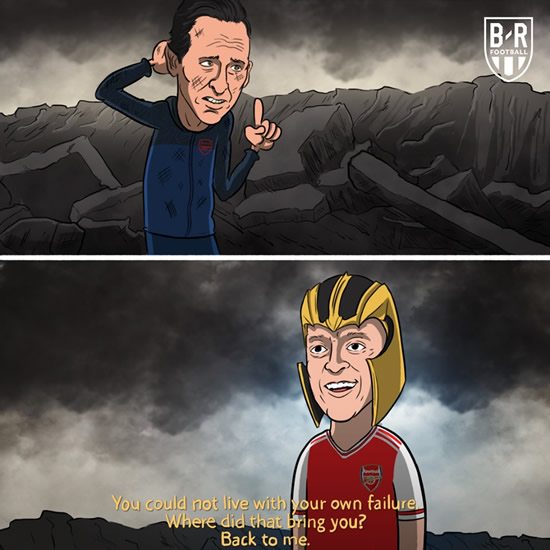 7M Daily Laugh - Me Again? Ozil in Carabao Cup