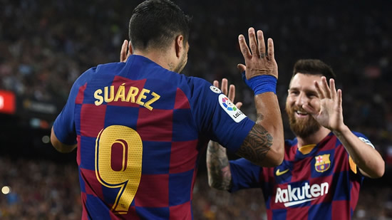 Marcelo Tinelli wants Messi and Luis Suarez to play for San Lorenzo