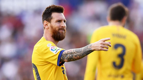 Messi already talking with Barcelona over new contract, confirms sporting director