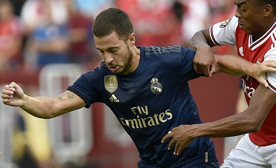 Real Madrid ace Hazard tells France: Benzema makes everything easier