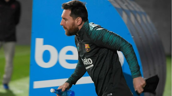 Valverde rests Messi for Champions League trip to Inter