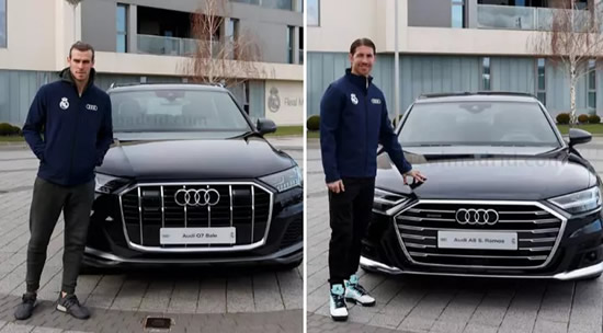 Real Madrid Players And Staff Given Audi Of Their Choice For Christmas