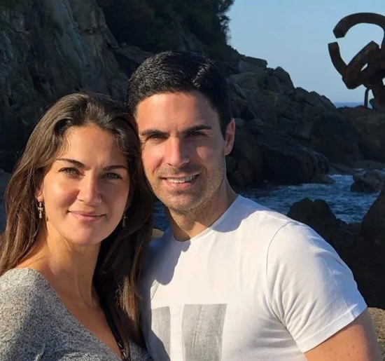 Mikel Arteta had life-saving heart operation as a toddler and is married to CSI: Miami actress Lorena Bernal