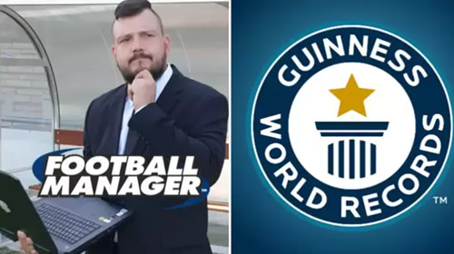 Football Fan Breaks Guinness World Record For Longest Football Manager Save