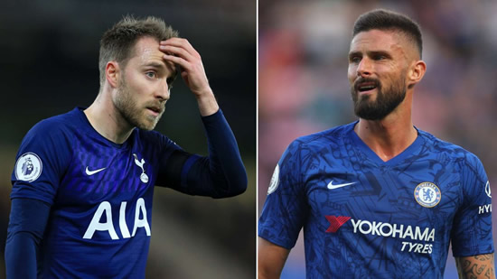 Transfer news and rumours LIVE: Eriksen and Giroud arrive for Inter talks
