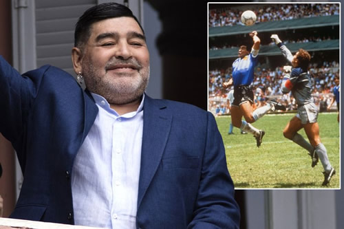 Diego Maradona tells full truth behind 'Hand of God' and disgust among Argentina team