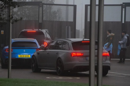ROLLING STONES John Stones arrives at City training in new £265k Rolls Royce… but struggles to get in as security don't recognise car