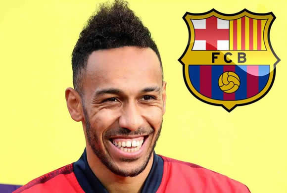 Aubameyang 'agrees' to join Barcelona but transfer only possible if Arsenal captain asks to leave, say reports in Spain