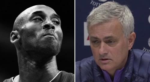 Jose Mourinho's poignant Kobe Bryant comments at first Tottenham press conference