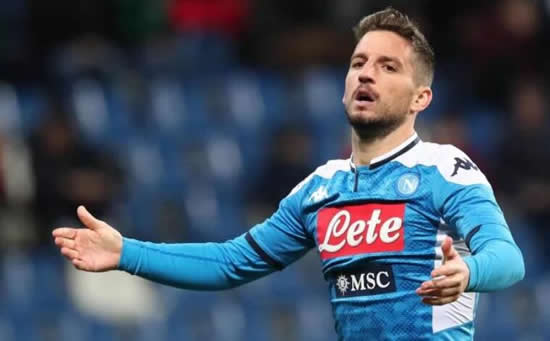 CURTAINS FOR MERTENS? Chelsea face uphill transfer battle to land Dries Mertens with striker keen to break Napoli goal record