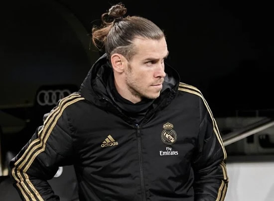BALED OUT Gareth Bale pictured leaving shock Real Madrid defeat early with his side trailing 4-1 in the Copa del Rey quarter-final