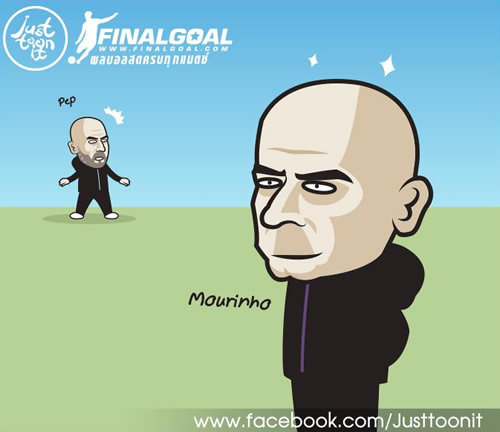 7M Daily Laugh - Mourinho's new haircut