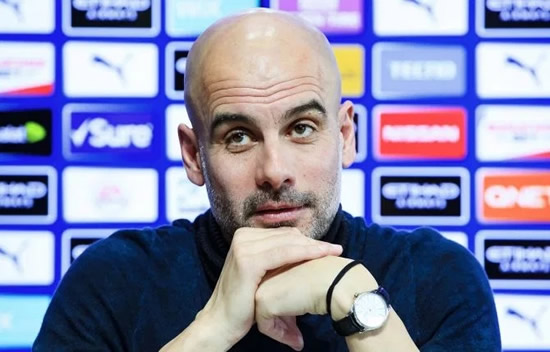 ON GUARD Man City sack fears for Pep Guardiola if they are knocked out of Champions League by Real Madrid