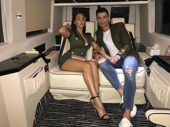 POCKET MONEY Cristiano Ronaldo 'gives stunning girlfriend Georgina Rodriguez an £80k allowance a month' to fund lavish lifestyle