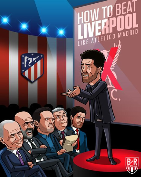 7M Daily Laugh - Simeone: How to beat Liverpool