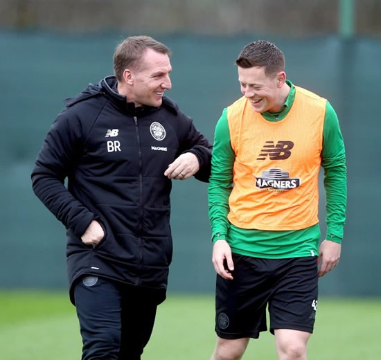 BREN'S HEAD BHOY Leicester boss Rodgers ready to raid Celtic with £25m transfer bid for Callum McGregor
