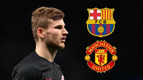 Transfer news and rumours LIVE: Barcelona & Manchester United submit Werner offers