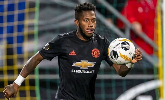 REVEALED: Mourinho told Fred he was set for Man Utd exit