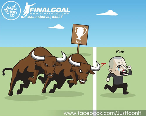 7M Daily Laugh - UCL : bye bye Mou